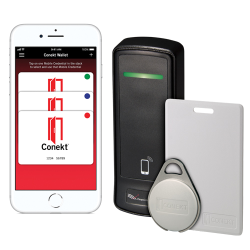 CONEKT™ Mobile/Contactless Smartcard Readers & Credentials Logo