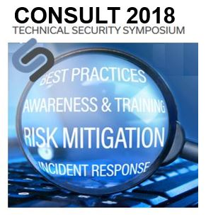 CONSULT 2018 Technical Security Symposium  Image